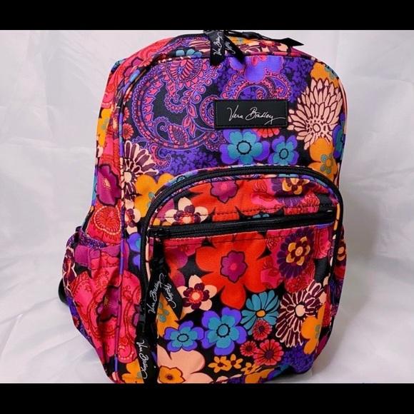 Vera Bradley Floral Mini Backpack! NWOT!!